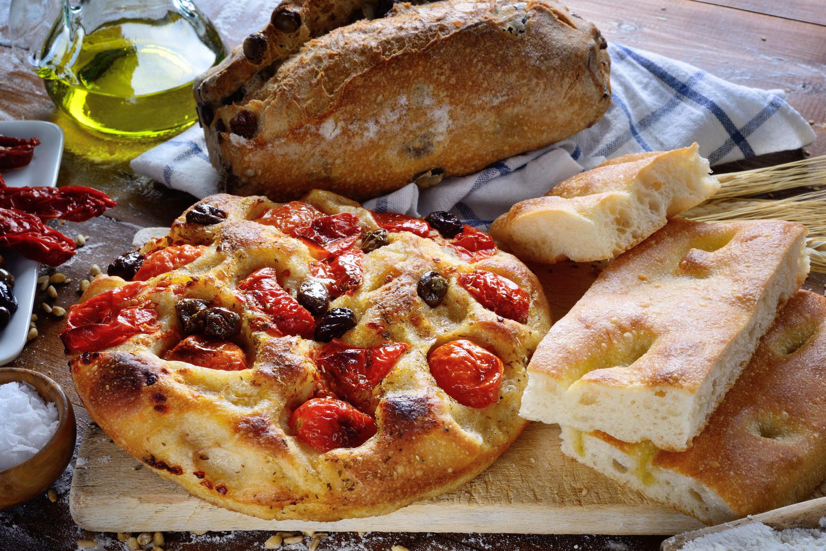 cucina schiacciata e pizza